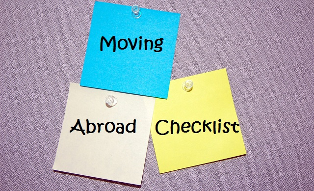 Moving Abroad Checklist